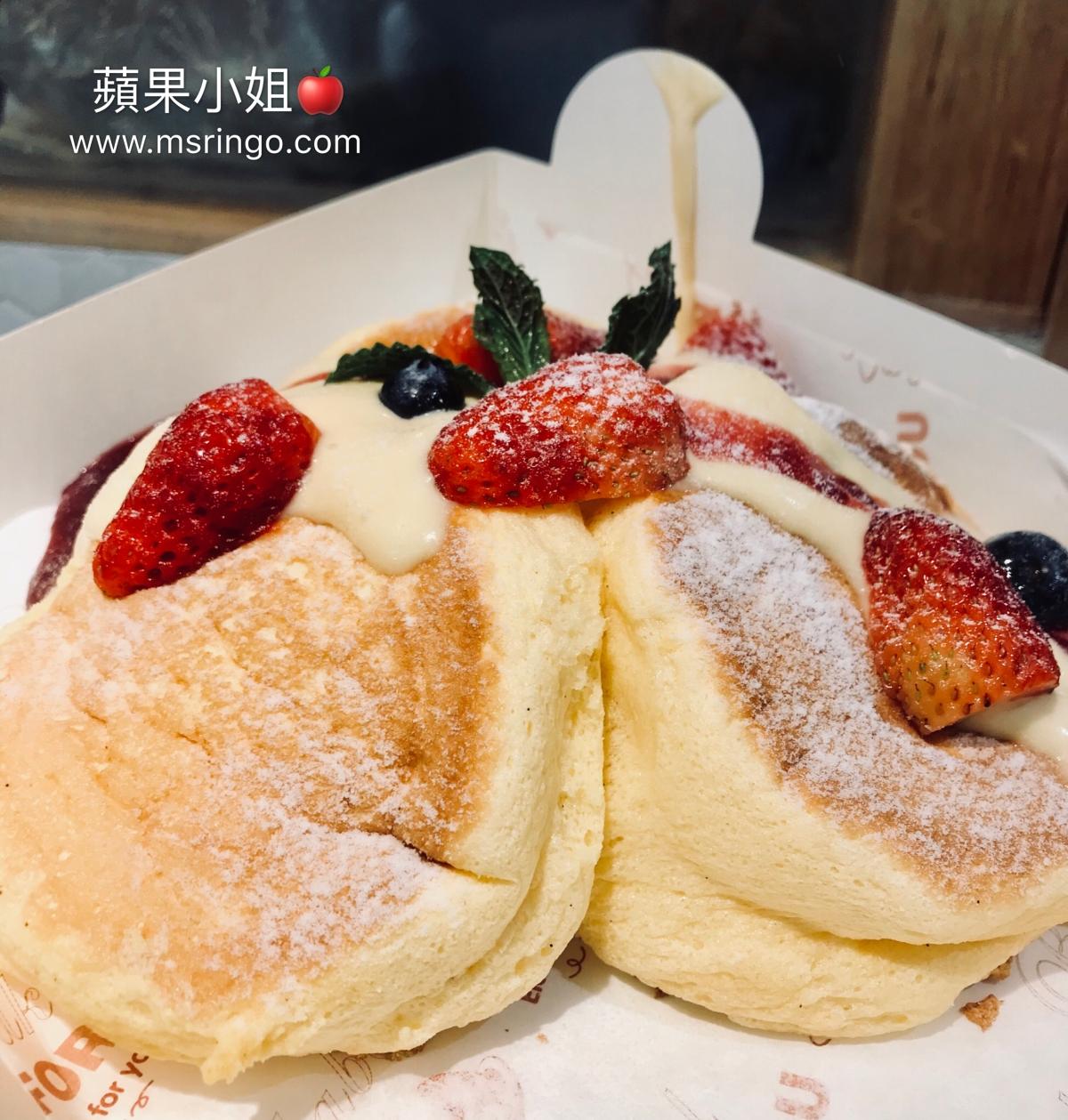 上海 | Hotcake舒馥芮鬆餅・現點現做的鬆軟舒芙蕾鬆餅